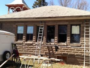 Window work - after