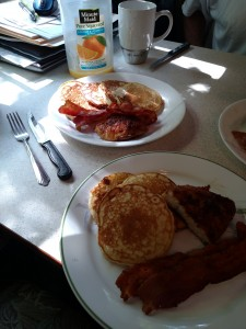 Chicken and Pancakes