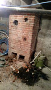 Chimney basement