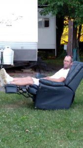 Campfire chair