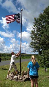 Flag three