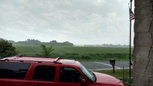 rain at the school